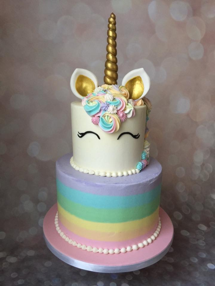 Rainbow Unicorn Cake Robyn Loves Cake